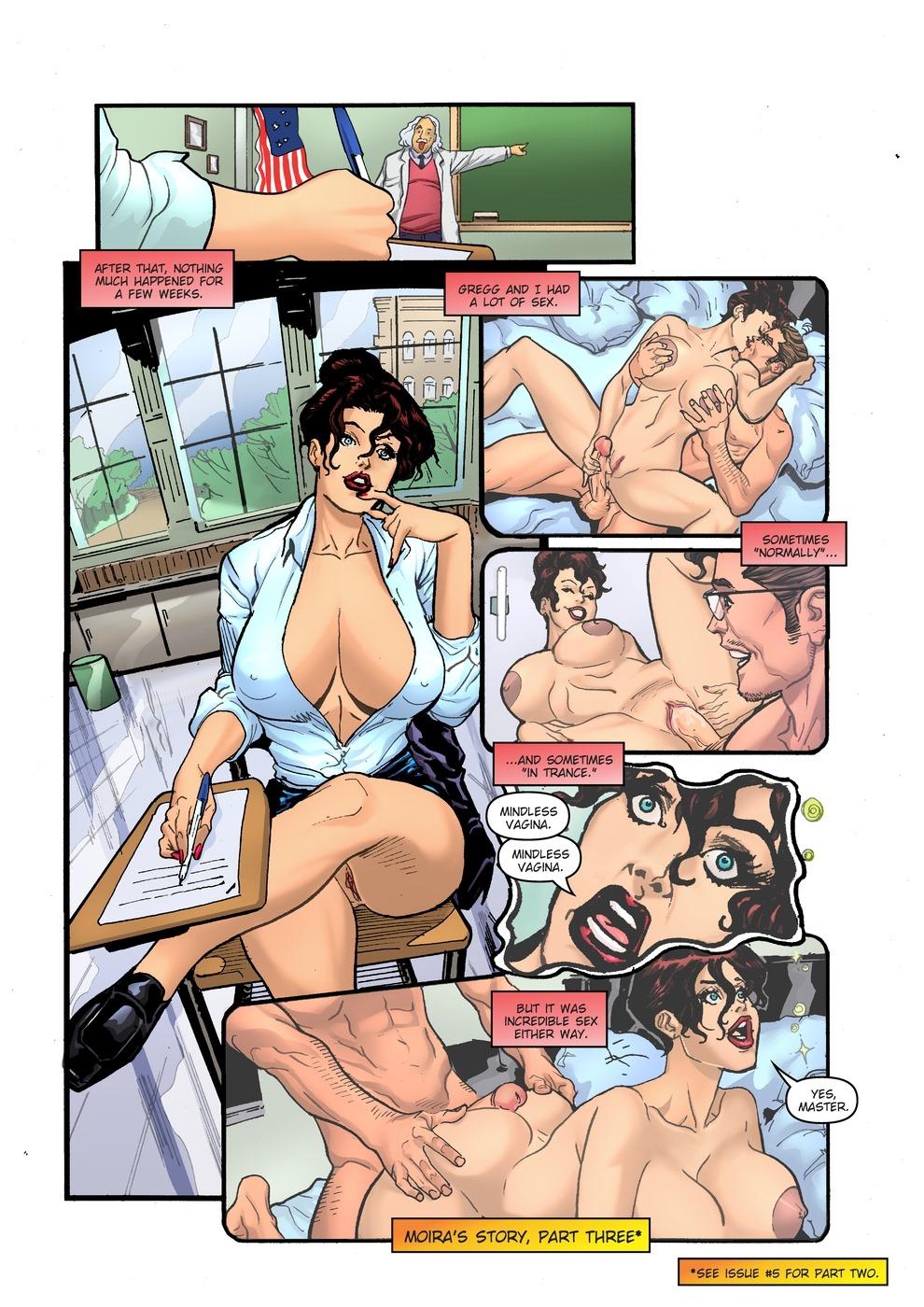 hardcore erotica fantasy comics